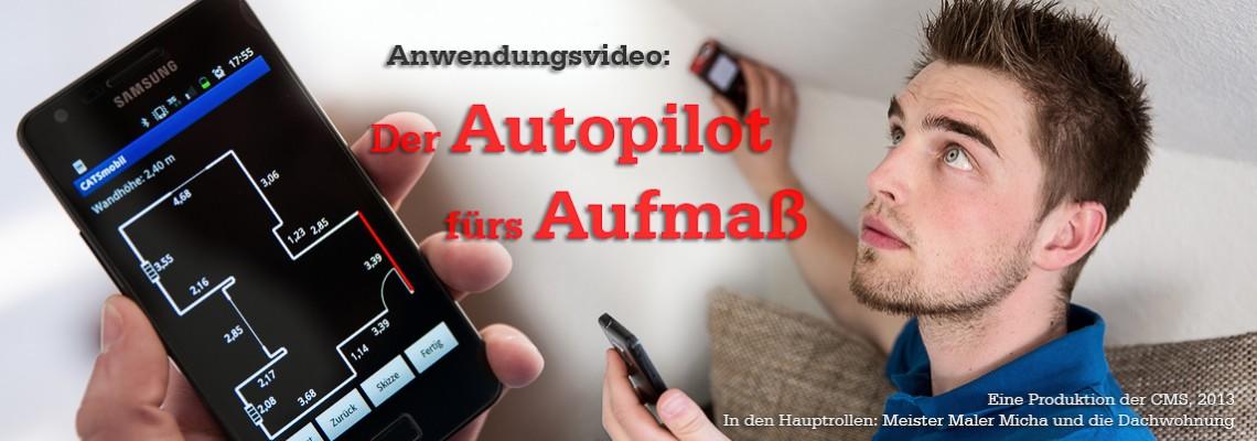 Anwendungsvideo: Der Autopilot fürs Aufmaß