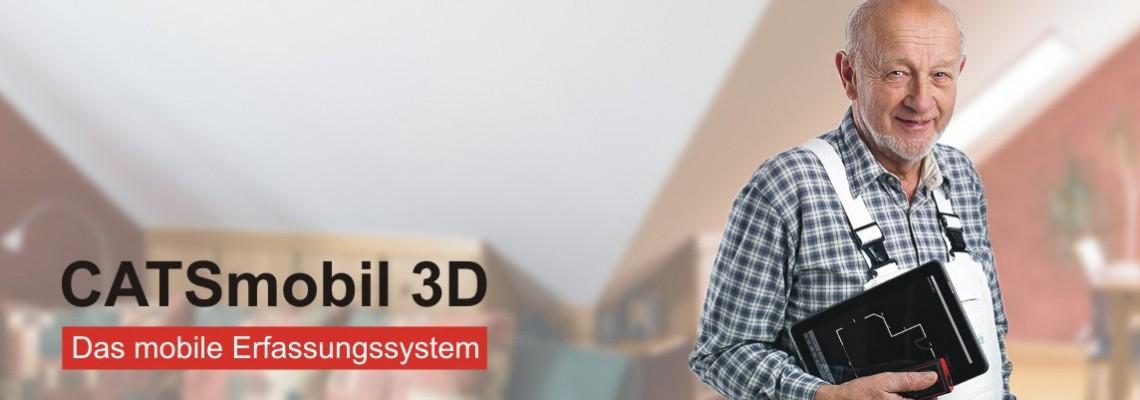 CATSmobil 3D: Das mobile Aufmaßsystem